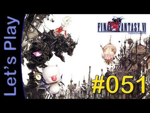 Let's Play Final Fantasy VI (SNES) #51 [DEUTSCH] - Überfahrt nach Figaro Süd