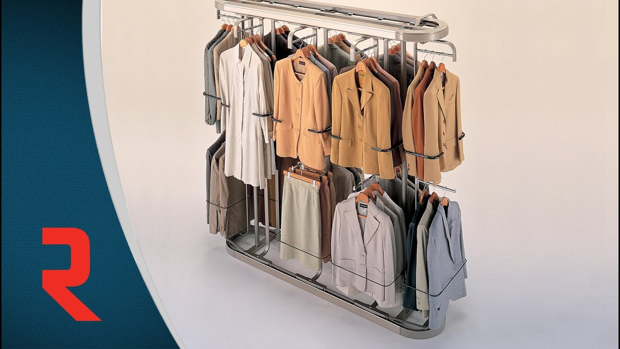 Beautiful Small Rotary Clothing Rack