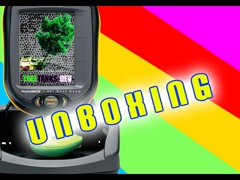 unboxing the humminbird smartcast 230 fish finder - youtube, Fish Finder