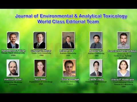Journal of Environmental & Analytical Toxicology | OMICS Publishing Group
