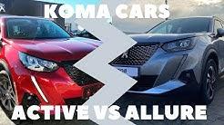 NEW Peugeot 2008 Active vs Allure - Comparison (interior / exterior) 4K