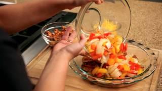 How To Make Nachos - #22 - Adding Vegetables To Potatoes — Appetites®