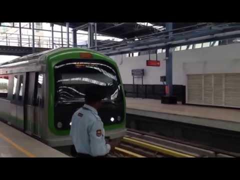 Bangalore Metro (Namma Metro) Sampige Road to Peenya Industry