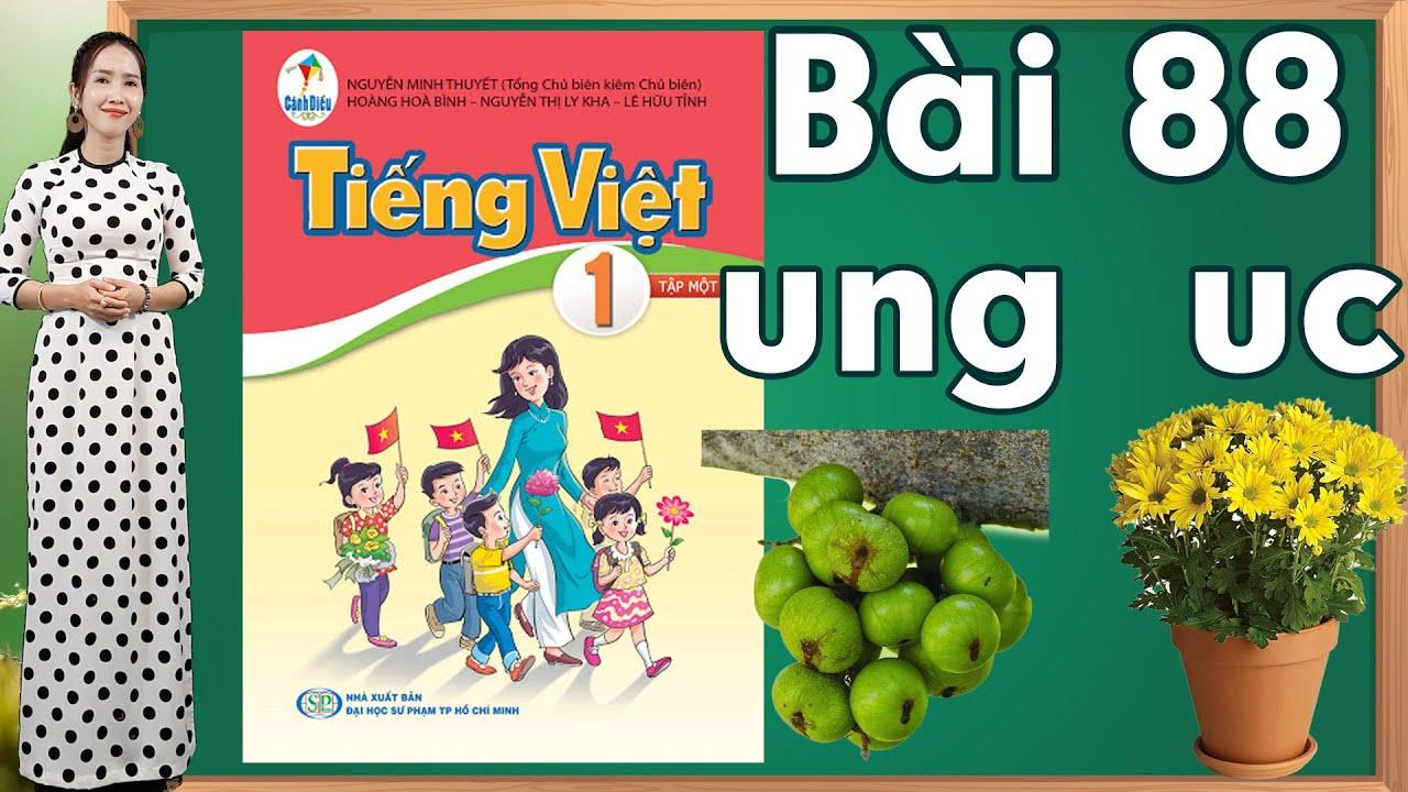 Tiếng việt lớp 1 sách cánh diều - Bài 88|Bảng chữ cái tiếng việt |learn vietnamese