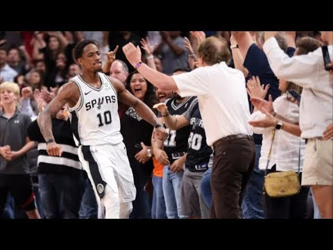 DeMar DeRozan 34 Points Clutch In OT Vs Mavericks! 2018-19 NBA Season