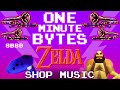 Ocarina of Time Shop Music - One Minute Bytes #1 (The 8-Bit Big Band)