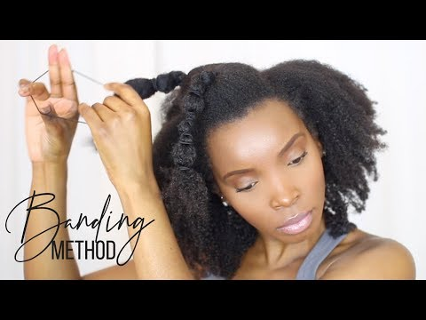 How to STRETCH Natural Hair WITHOUT HEAT