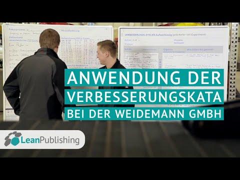 Anwendung der Verbesserungskata bei der Weidemann GmbH