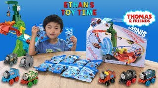 Thomas and Friends Minis Motorized Raceway Toy Train Playset Mystery Surprise Blind Bag Unboxing