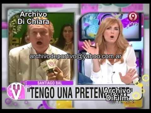 Viviana Canosa entrevista a Santiago Bal 2012 DiFilm