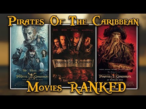 Ranking All 5 Pirates Of The Caribbean Movies