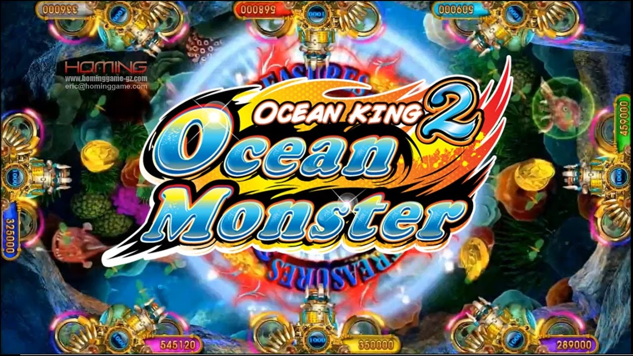 Fish hunter ocean monster fishing game machine 3d ocean for Turtle fish games