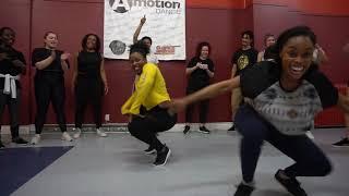 MABINA CHALLENGE BY DJ MERCO - AFROBEATS CHOREO BY CHERYLLE SHYNE