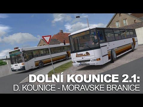 OMSI 2 - Dolní Kounice 2.1 - Line 154: Dolní Kounice - Moravske Branice