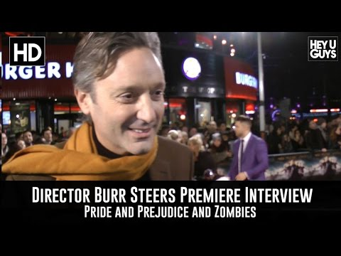 Director Burr Steers Premiere Interview - Pride and Prejudice and Zombies