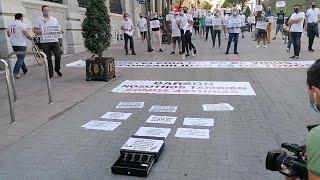 Hosteleros del ocio nocturno se movilizan en Oviedo