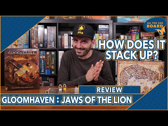 Gloomhaven: JAWS OF THE LION | REVIEW | The Gold Standard of Board Game Prequels