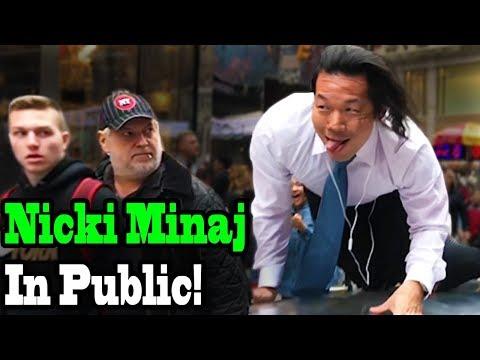 "NICKI MINAJ - ""Chun Li"" - TWERK IN PUBLIC!!"