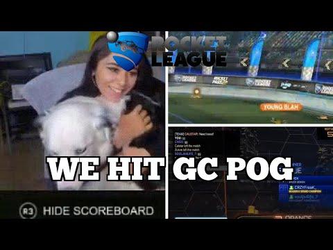 WTF Rocket League Moments: WE HIT GC POG thumbnail