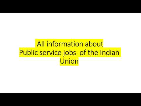 Public services of the Indian Union