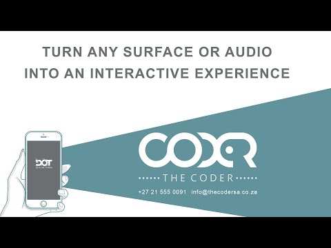 Data On Things from The Coder turns any surface or audio into an interactive experience!