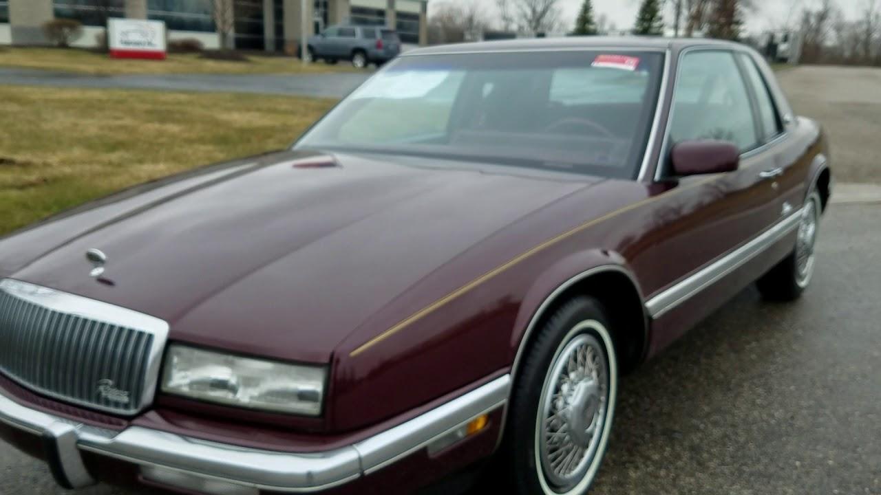 1989 Buick Riviera for sale auto appraisal Grand Rapids Mi 800-301 ...