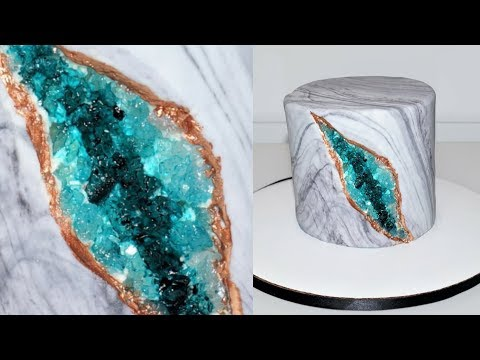 cake-decorating-tutorials-|-how-to-make-a-geode-cake-|-sugarella-sweets