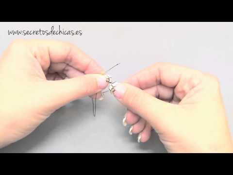 Decorar horquillas y peinetas en perlas