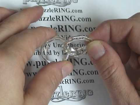 4 band puzzle ring solution instructions