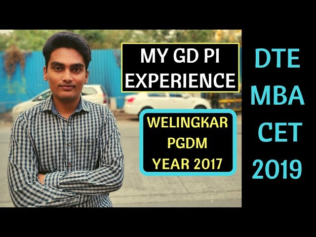 Welingkar PGDM GD PI Experience. Group Activity and Personal Interview Round