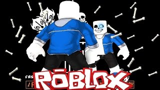 Roblox Adventures / UNDERTALE SANS VS SANS DEATH BATTLE / UNDERTALE