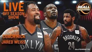 Can Kyrie Have An MVP Season? LIVE Off Season NBA Show