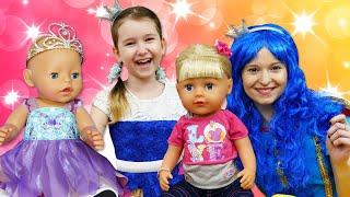 Видео с куклами - Две Принцессы Как мама для Беби Бон! – Онлайн игры для девочек одевалки.