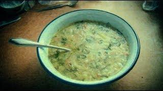 Суп из утки угощаем Николая Соболева
