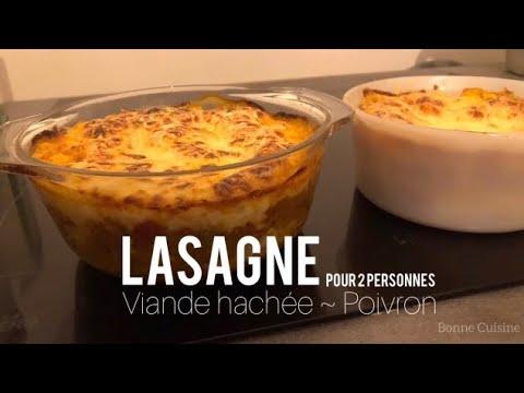 lasagne---viande-hachée-~-poivron-//-pour-2-pers.
