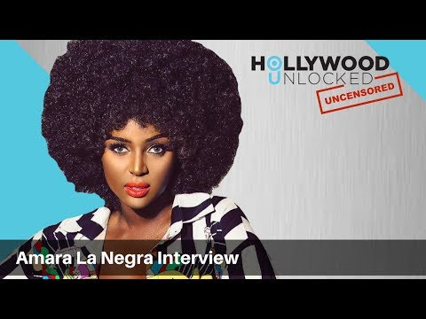 Amara La Negra Explains the Afro Latina Lifestyle on Hollywood Unlocked [UNCENSORED]