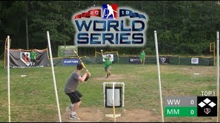 World Series Game 4 | Mallards vs. Wildcats | MLW Wiffle Ball 2018