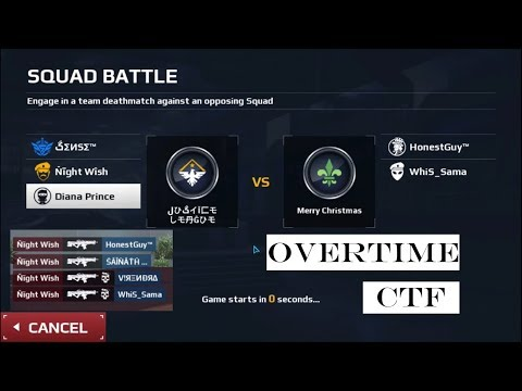 MC5 SB AGAINST MERRY CHRISTMAS, CTF IN OVERTIME MAP WITH FUNNY VOICE CHAT, NIGHTWISH PRO