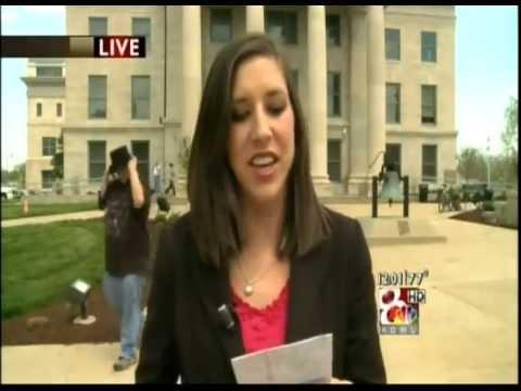 Tornado Sirens Interrupt Live News Report