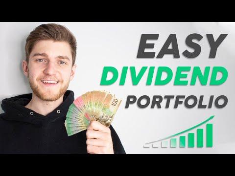 The EASY $3000 Dividend Portfolio - Stock Market Investing
