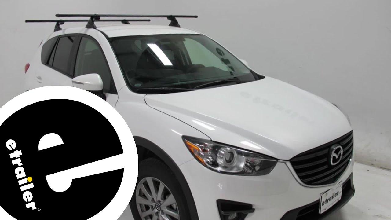 Mazda Cx 5 Roof Rack >> Yakima Roof Rack Review - 2016 Mazda CX-5 - etrailer.com - YouTube