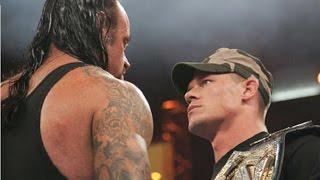 #مباراة_اسطورية3  - اندرتيكر ضد جون سينا - من افضل المواجهات في تاريخ المصارعة الحرة