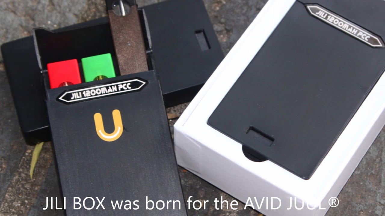 JILI Box Charging Case Power Bank PCC for JUUL