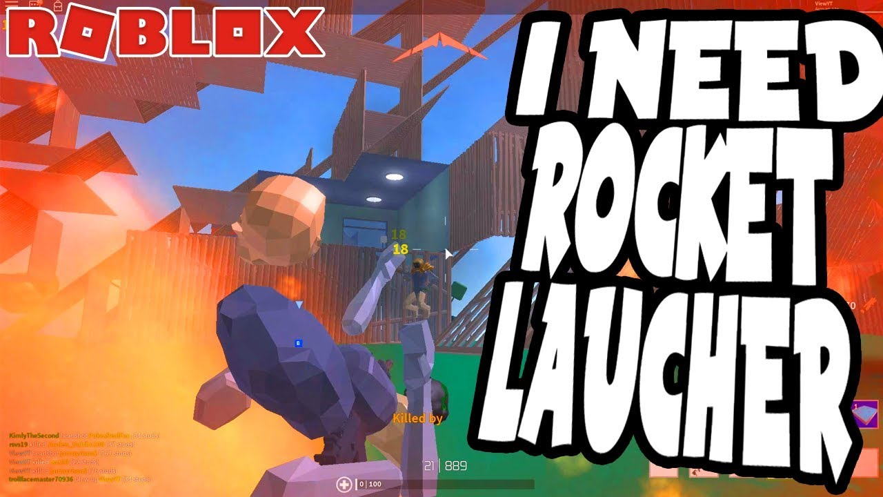 I NEED ROCKET LAUNCHER! | Roblox Strucid - YouTube
