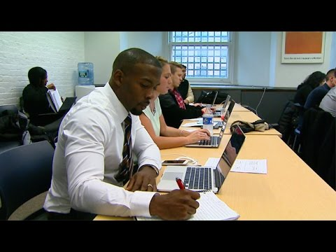 Andrew Hawkins Back In School