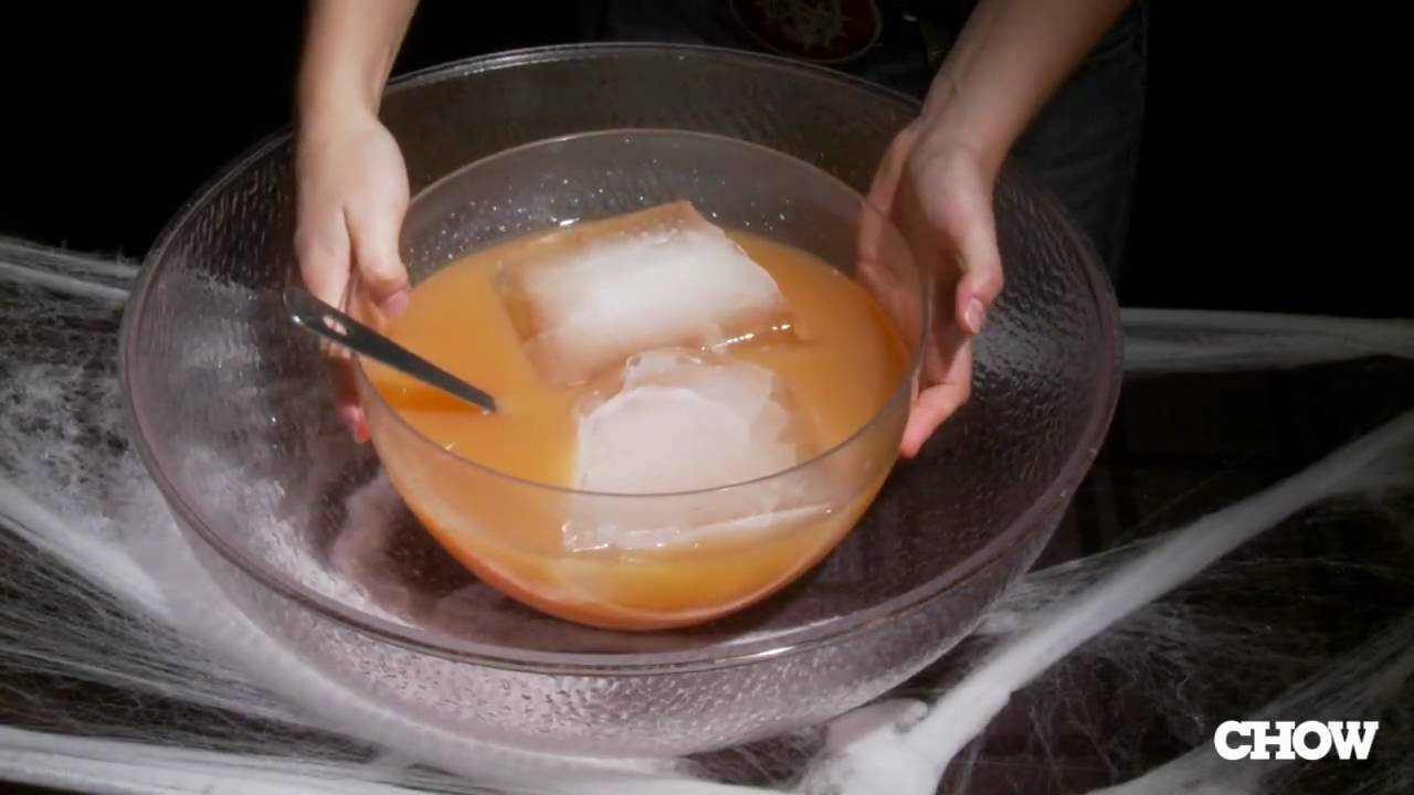 Halloween may be considered a fun, family holiday today, but its history is steeped in tradition and mystery. How to Use Dry Ice with Halloween Punch - CHOW Tip - YouTube