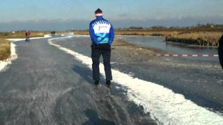 Ice skating in Friesland 2011-2012