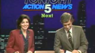 WLWT Cincinnati, OH. - 11PM News Tease and Open (1983)