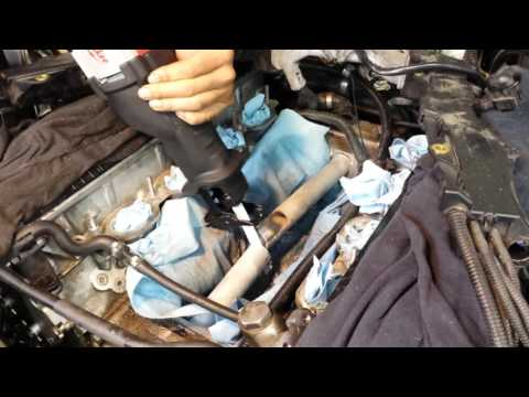 Bmw N62 coolant transfer pipe part 2