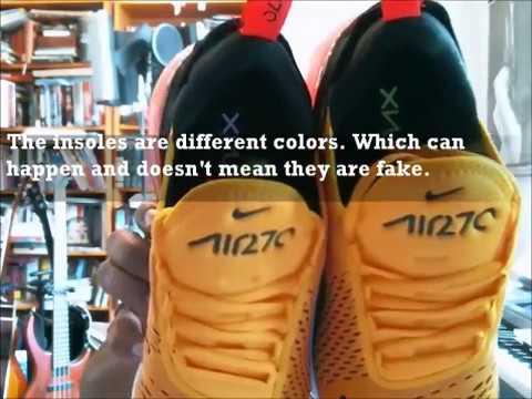Nike Air Max 270  Black University Gold   712061e65